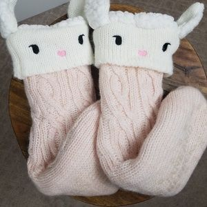 Jane and Bleecker Lamb Anti-Slip Socks A1213